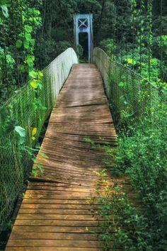 .Abandoned drawbridge.Taiwan