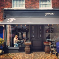 The Grocer at 91, Old Amersham. Photo: Rob Bentley... so pretty!!