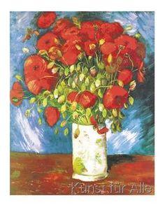 Vincent van Gogh - Poppies, 1886