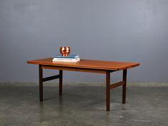 Height Adjustable Danish Modern Teak Coffee/Dining by MadsenModern