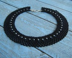Free pattern for necklace Opium