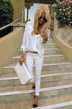 Loving all-white outfits at the moment, but how do you keep them clean?!