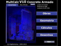 Apresentação MultCalc V10 (32 e 64 bits) Windows 8, 8.1 e 10