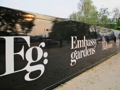 Embassy Gardens advertising hoarding | Flickr - Photo Sharing!