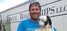 Rescue Road Trips: A Man with a Big Rig Travels 4,200 Miles to Save Dogs in Kill Shelters