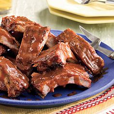 Grilled Baby Back Ribs | MyRecipes.com