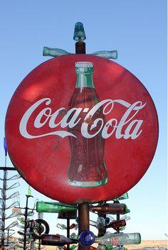 Coke Bottle Tree