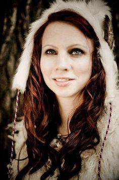 Elin Kåven---representing the Sami people of Northern Scandinavia