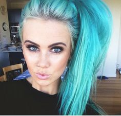 {Dj Tigerlily} Lorelei's new fc after she dyes her hair blue