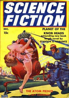 The Most Beautiful Pulp Magazine Cover Art We've Ever Seen Science Fiction Kunst, Science Fiction Magazines, Pulp Fiction Book, Fiction Novels, Fiction Stories, Crime, Sci Fi Comics, Pulp Magazine, Magazine Covers