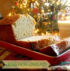Eggnog Bread from A Sweet Baker