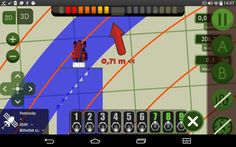 MachineryGuide visual section control www.machineryguideapp.com  #MachineryGuide #GPS #tractor #models #guidance #application #agriculture #tractorgps #sectioncontrol #sprayercontrol #sprayer