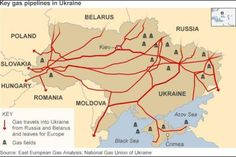 Ukraine may not be natural gas independent but it is a producer and a lot of pipelines move from it and across it to the rest of Europe. Could this account for some of the indecision on the parts of NATO and the EU?