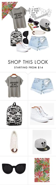 """""""---"""" by nadyanataliaa on Polyvore featuring Vans, adidas and Surya"""