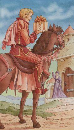 Le cavalier d'écus - Tarot des 78 portes par Antonella Platano & Pietro Alligo