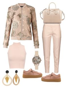 """""""Fashion Is What You Make It"""" by aharcaki on Polyvore featuring Miss Selfridge, STELLA McCARTNEY, WearAll, Givenchy and Olivia Burton"""