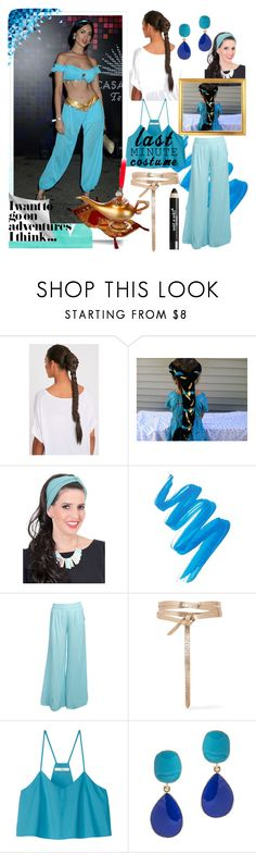 """""""It's not too late to dress up as...JASMINE!"""" by sonotsizezero ❤ liked on Polyvore featuring TAMAR LANDAU, L.A. Girl, Stylista Original, Isabel Marant, TIBI, Kenneth Jay Lane and Wet n Wild"""