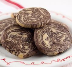 Chocolate Peanut Butter Marble Cookies | Baking and Cooking Blog - Evil Shenanigans