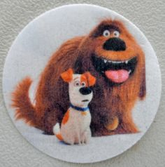 Secret Life Of Pets Cookie & Cupcake Toppers.