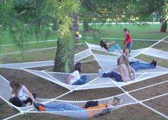 ilia estudio interiorismo: Instalación en un parque Italiano