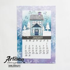 Calendar Pages, Desktop Calendars, Small Alphabets, Alphabet Stamps, Largest Butterfly, Stamp Pad, Basic Grey, Card Sketches, Stampin Up