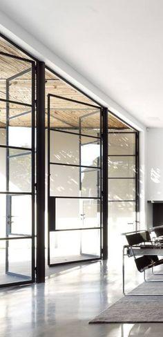 Lovely glass doors