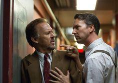 Michael Keaton and Ed Norton in 'Birdman' (2014) dir. Alejandro González Iñárritu.