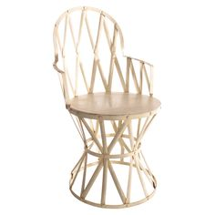 Iron Lattice Chair