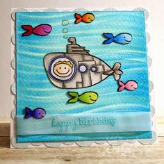 Little Art Cottage: Happy Submarine Birthday