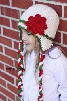 Crochet Pattern Holiday Hat All sizes baby to by RAKJpatterns