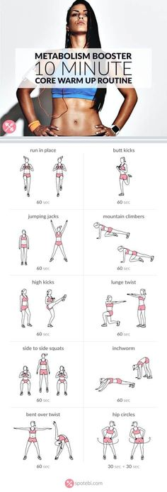 10 Minute Metabolism Work Out