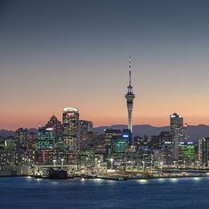 City of Sails at Night......Auckland, New Zealand