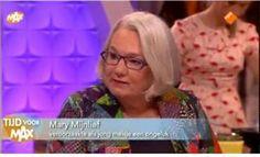 """Mary Mijnlieff vertelt over het ongeluk dat ze als meisje van 6 veroorzaakte (in """"Tijd voor Max"""" op 23/03/17 bij lancering van prentenboek """"Per ongeluk"""")"""