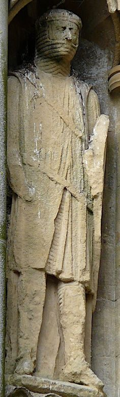 Wells Cathedral, West Front Statue 147