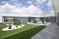 Vila 660 m² k prodeji Modřice, okres Brno-venkov; 0 Kč, parkovací místo, garáž, patrový, skeletová stavba, novostavby.