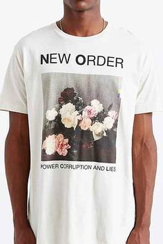New Order Tee - Urban Outfitters