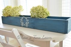 Flow Blue Milk Paint box by Jill @ Sew a Fine Seam