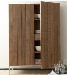 ethnicraft | teak rough storage cupboard (imported by lekker home)