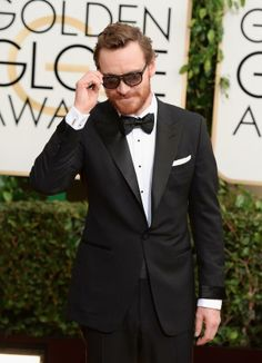 Michael Fassbender just upped the cool factor on the red carpet