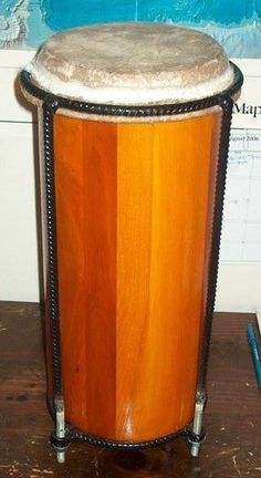 Natural Finish Jamaican Nyabinghi Drum Kette or by CrucialCulture, $227.77