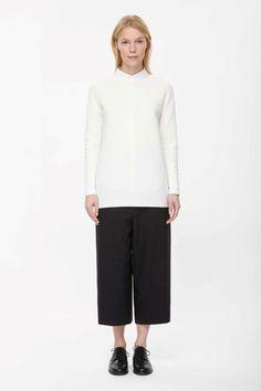 COS | Scallop rib jumper