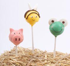 How to Make Animal Cake Pops #CakePops #Baking