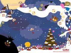 LocoLoco Wallpaper (Christmas) http://www.jp.playstation.com/scej/title/locoroco/index.html