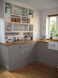 Image result for ikea open cabinet shelves kitchen