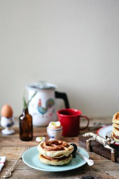 Challah Waffles, for the win.