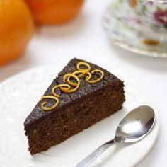 Chocolate and Orange Flourless Cake