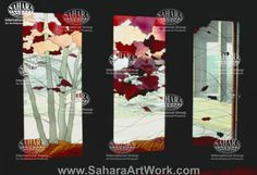 Sahara Art Work -  Stained Glass Technique