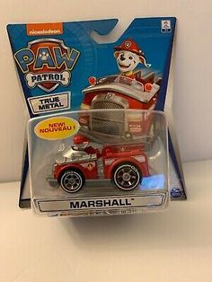 Paw Patrol--New Marshall-True Paw Patrol Figures, Paw Patrol Toys, Toddler Toys, Lunch Box, Kid, Metal, Room, Products, Paw Patrol Coloring