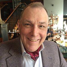 Peter from Pennsylvania sporting our DUSTIN polka dot printed silk cravat on the weekend...   #cravat #cravats #ascots #ascot #ascottie #ascotties #pocketsquares #pocketsquare #madeinengland #madeinbritain #cravatclub #london #gentleman #menswear #style #mensstyle #mens #dapper #sartorial #sharp #distinguishedgentleman #sprezzatura #mensfashionpost #buybritish #sartorial #mensaccessories #polkadot #ss17 #springstyle #chap