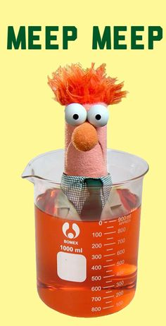 Beaker in a beaker - I bought mine from Steve Spangler Science!